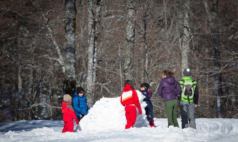 Séjour famille - Les trappeurs du Vercors