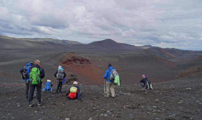 Trek dans la réserve de Fjallabak-10
