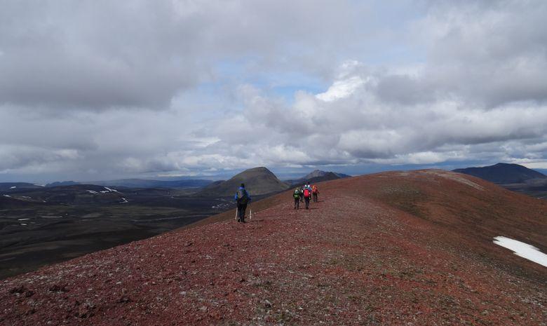 Trek dans la réserve de Fjallabak-11