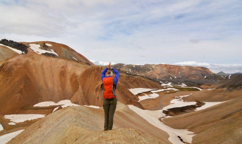 Trek dans la réserve de Fjallabak-12