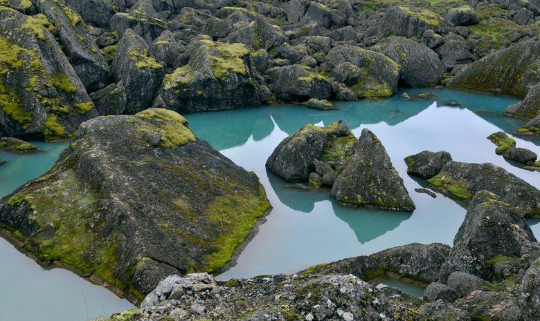 Lac situé dans le site de Storurð