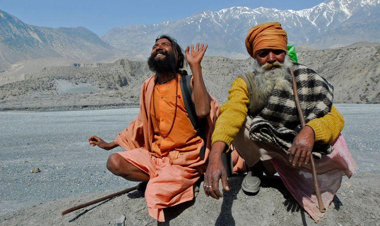 Villageois dans la Vallée de la Kali Gandaki