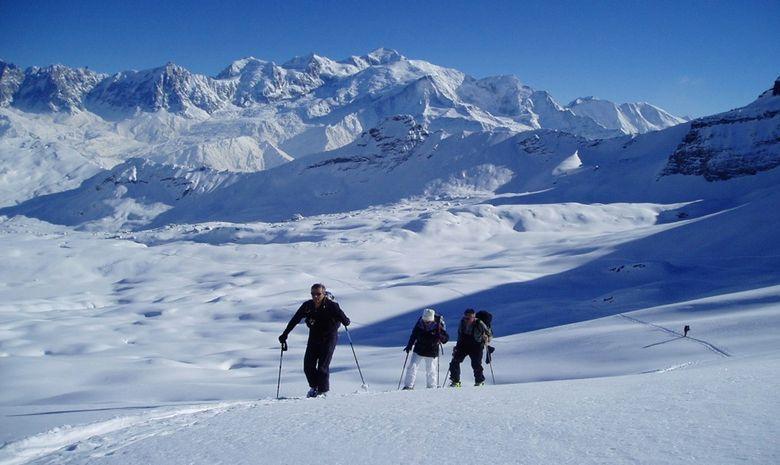 Ski de rando et balneo au pays du Mont Blanc-4