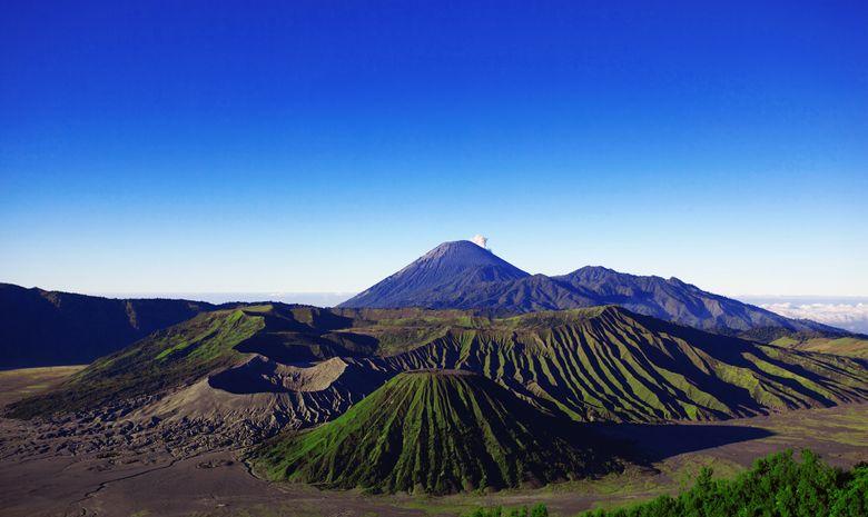 Caldeira du Bromo vue du Mt Penanjakan
