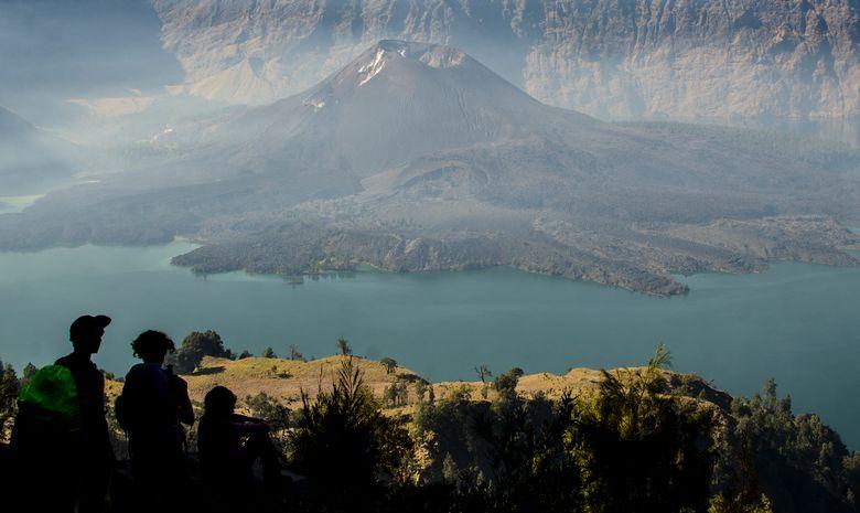 Vue sur le volcan Baru, dans la caldeira