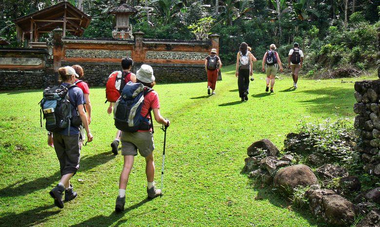Randonnée à travers temples & villages balinais
