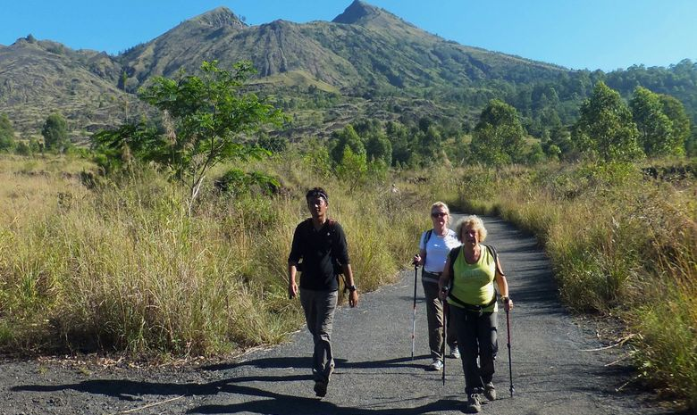 Descente du Mt Batur