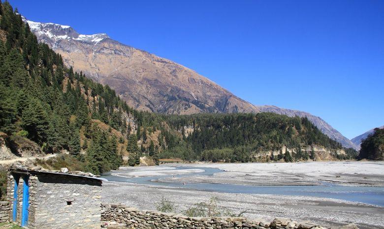 La rivière Kali Gandaki