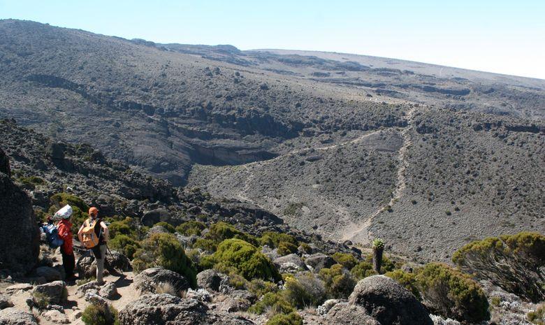 Trekkeurs dans la Vallée Karanga