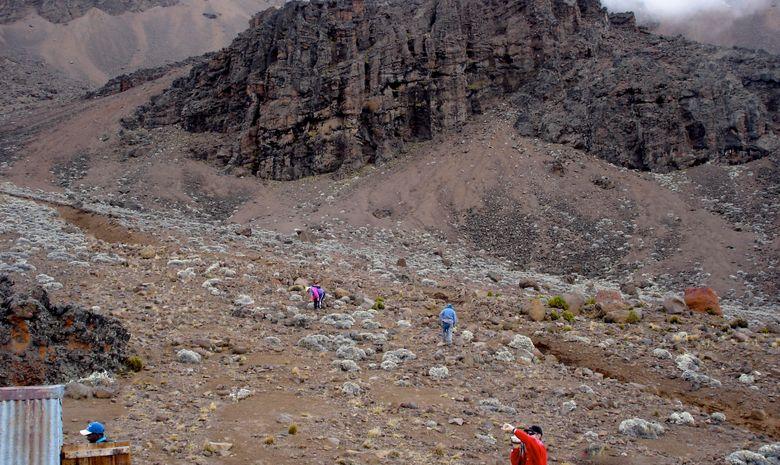 Le volcan Mawenzi