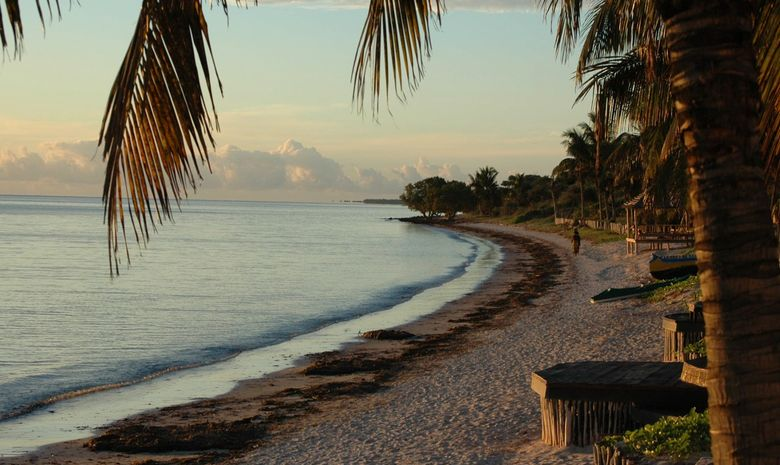 Panorama sur un plage malgache vers Tuléar