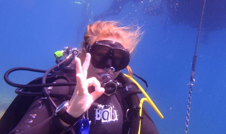 Stage plongeur niveau 1 près de Marseille - PE20m