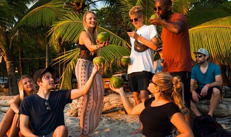 Séjour en surf-camp au Costa-Rica