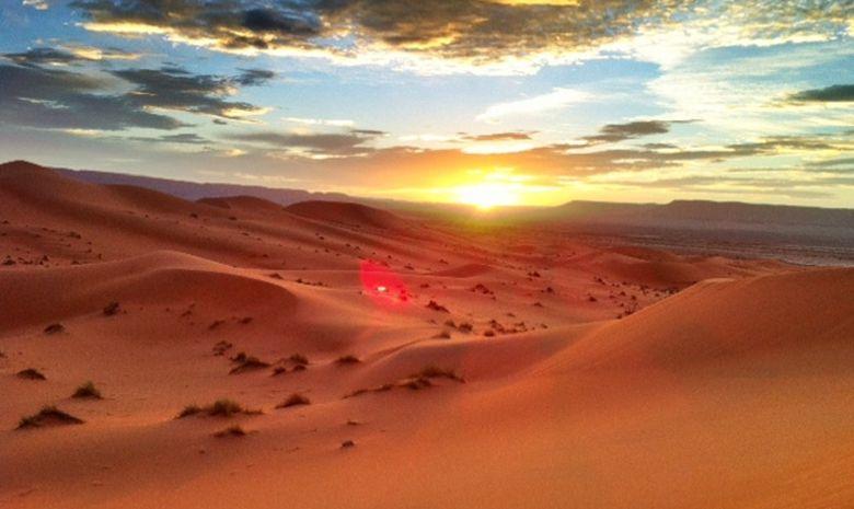 Contreforts du djebel Bani & Dunes de l'erg Mhazil-8