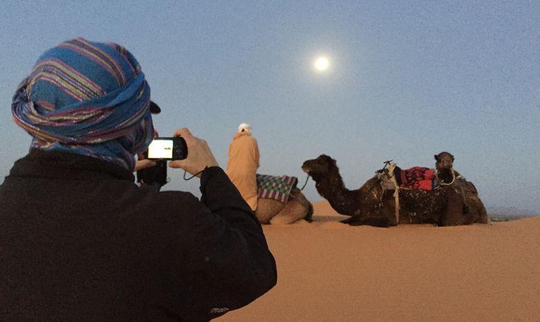 Contreforts du djebel Bani & Dunes de l'erg Mhazil-4