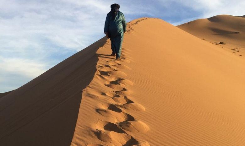 Contreforts du djebel Bani & Dunes de l'erg Mhazil-7