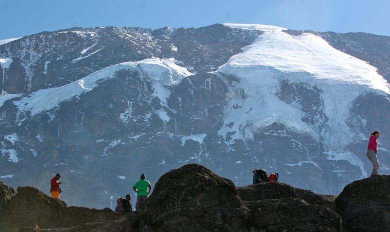 Cratère du Kibo sur le Kilimandjaro