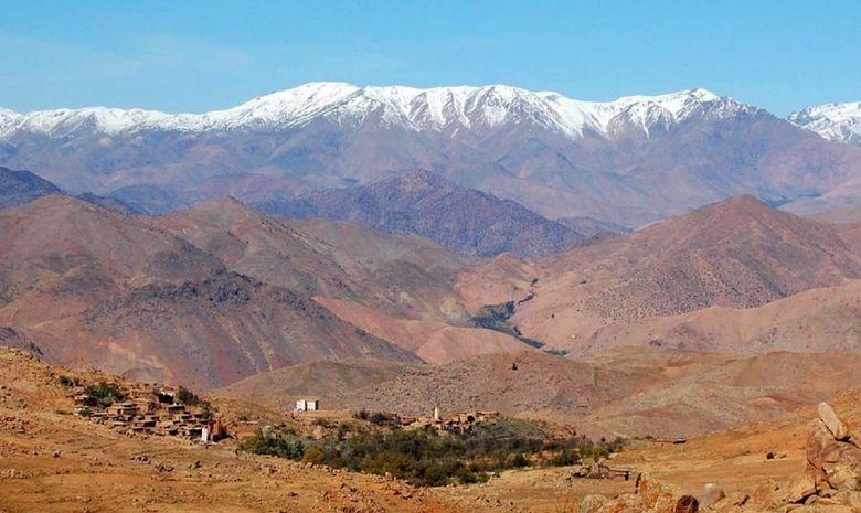 Panorama sur le Massif du Siroua