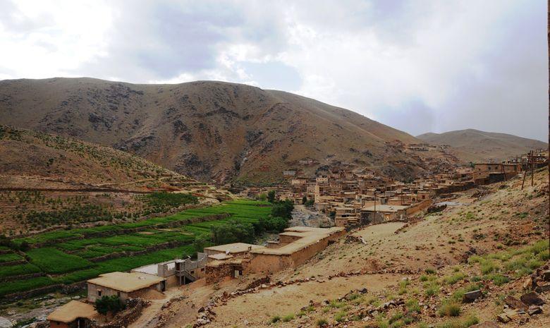 Village berbère dans le Siroua