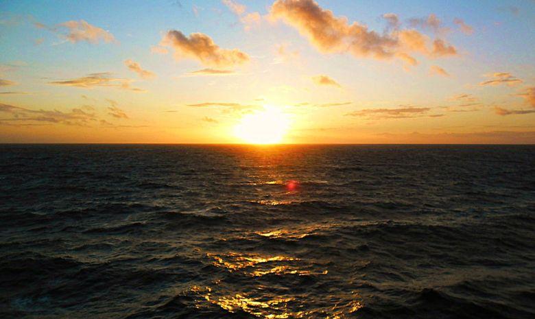 Coucher de soleil à bord d'un voilier d'exception-11