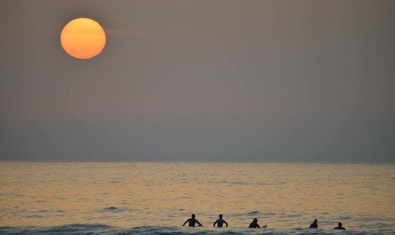 Séjour de surf à mi-temps