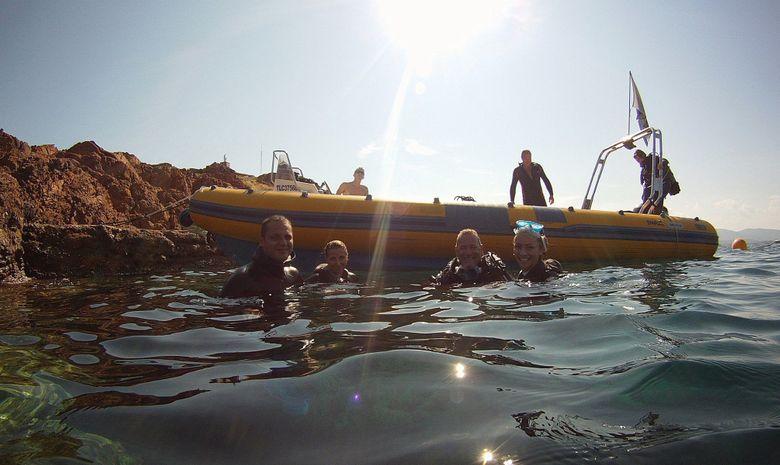 Formation plongeur Niveau 1 à Fréjus-3