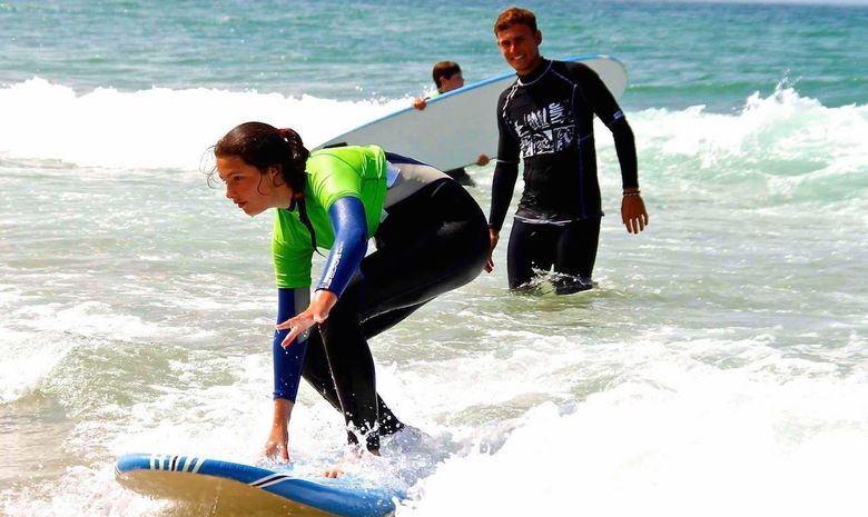 S'initier au Surf et au Yoga en même temps -3