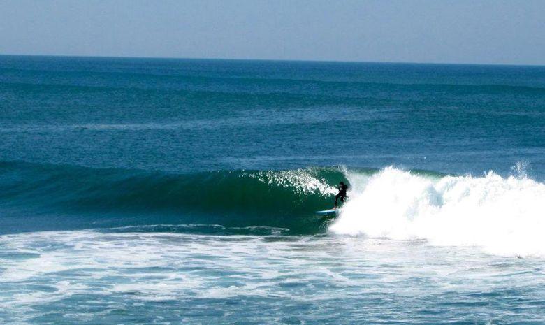 Une semaine pour apprendre à surfer et l'Espagnol -2