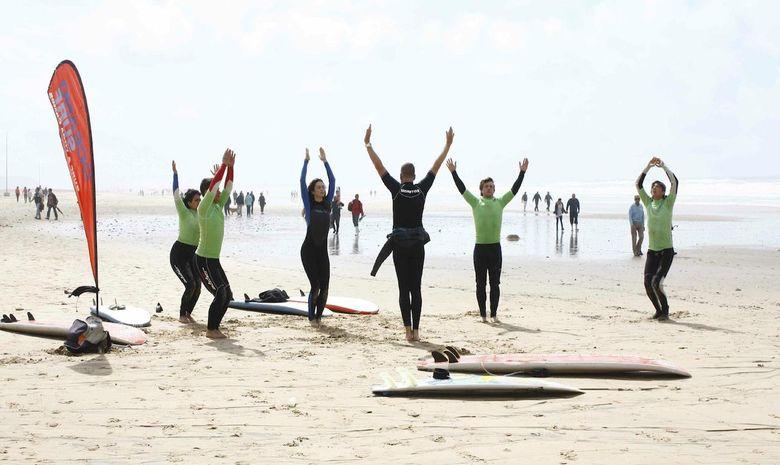 Une semaine pour apprendre à surfer et l'Espagnol -8