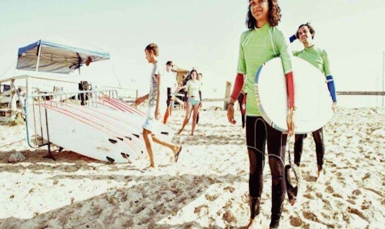 Une semaine pour apprendre à surfer et l'Espagnol -5