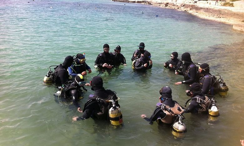 PADI Open Water à Malte-4