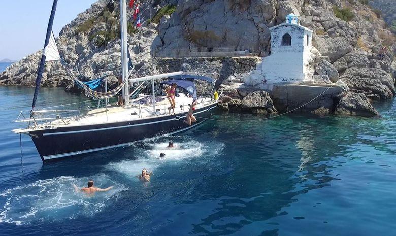 Le Golfe Saronique au départ d'Athènes-13