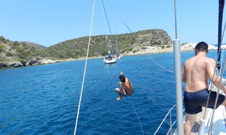 Les îles du Golfe Saronique au départ d'Athènes-15