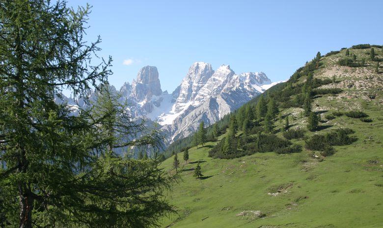 Sommets des Dolomites