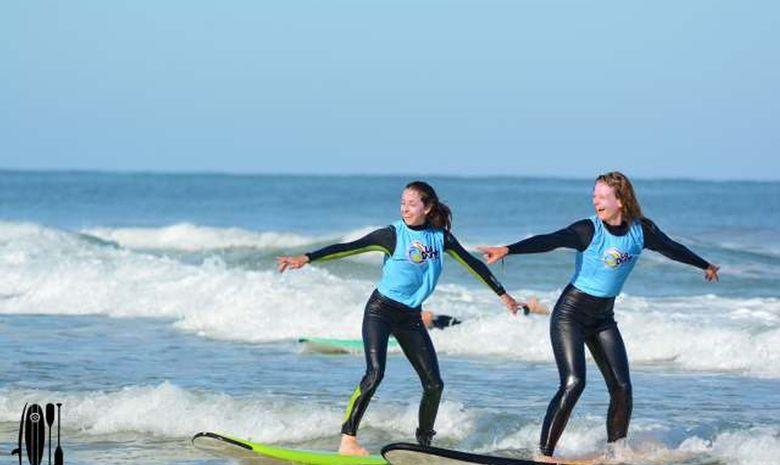 Séjour de surf & yoga sur la plage de Messanges-11