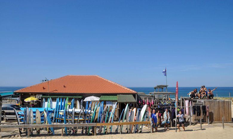 Séjour de surf & yoga sur la plage de Messanges