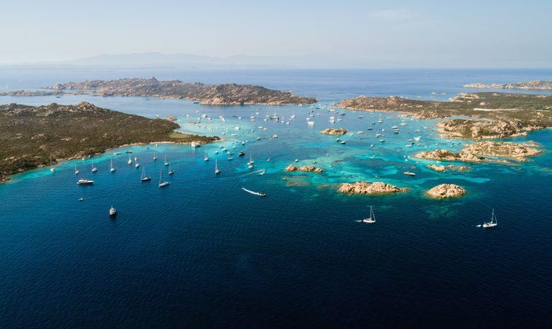 Croisière privée Corse & Sardaigne - voilier 44'