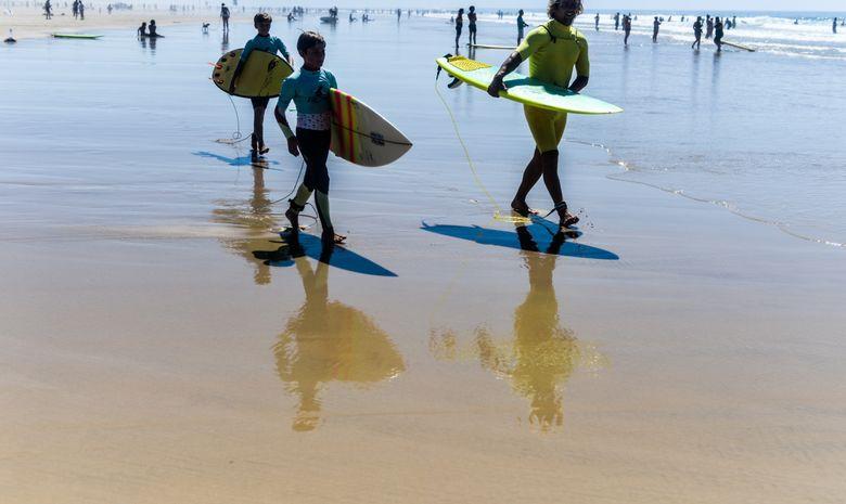 Cours de surf enfants (de 5 à 8ans)-4