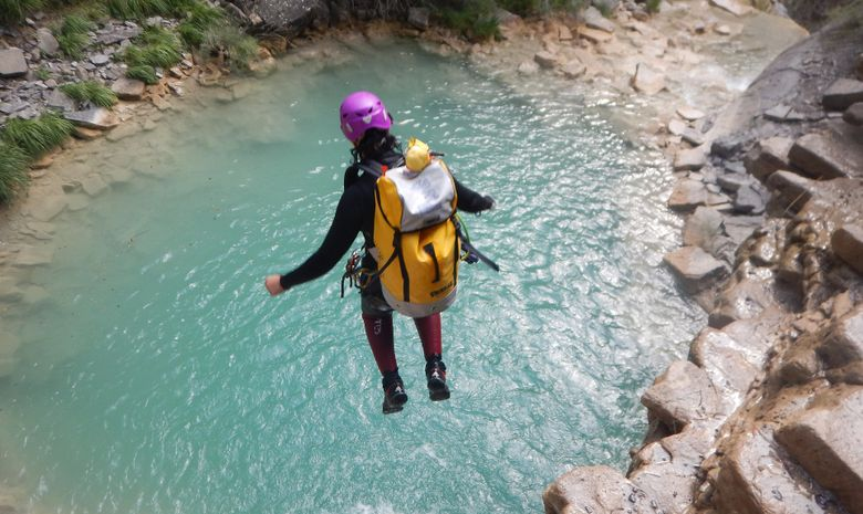 Descente Canyoning