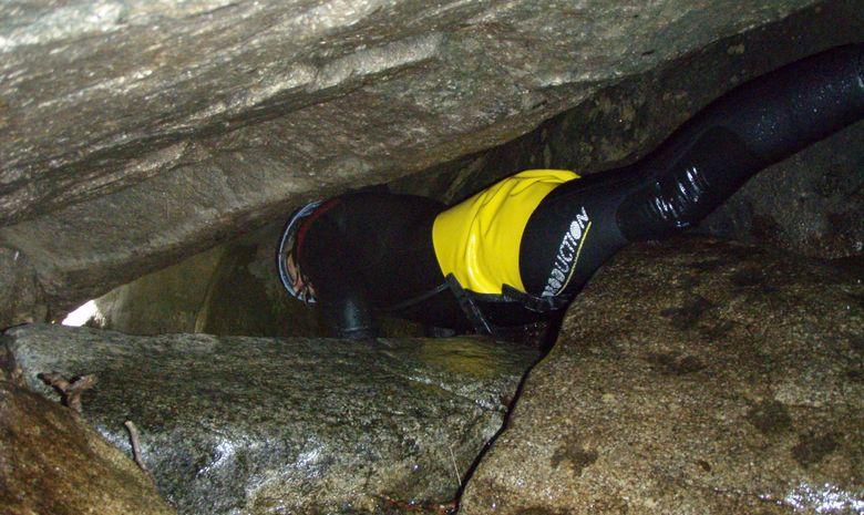 Canyoning découverte dans la Besorgues-7
