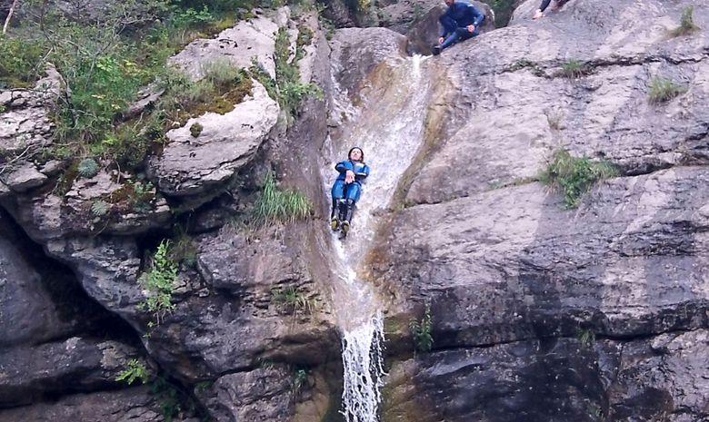 Canyoning niveau 1