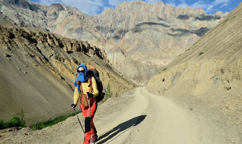 Trail au coeur du Ladakh-1