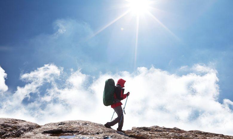 Trail sur la montagne de l'Annapurna-2