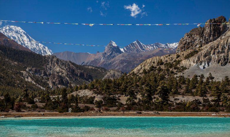Trail sur la montagne de l'Annapurna-10