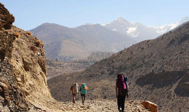 Trail sur la montagne de l'Annapurna-6