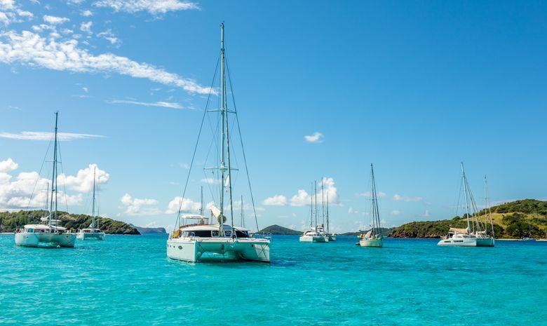Croisière privée de kitesurf aux Grenadines