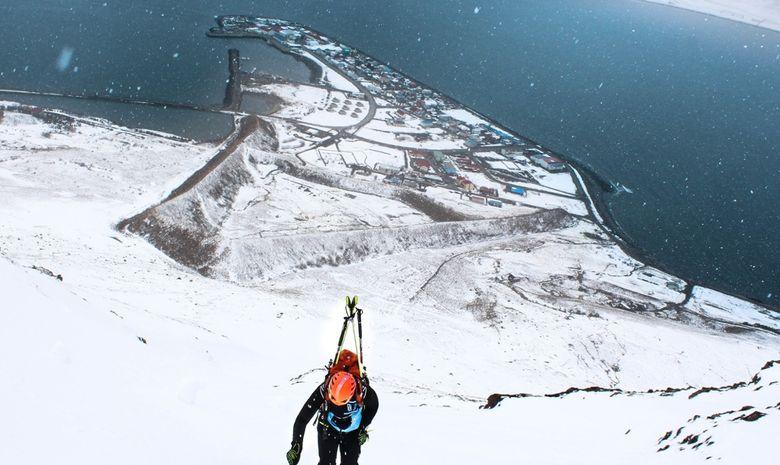 Ski de randonnée entre les fjords en Islande-3