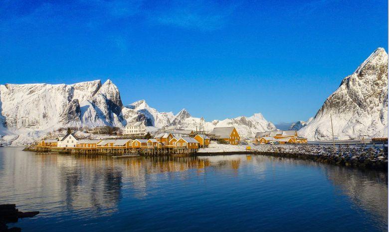 Séjour de ski de randonnée dans les Lofoten-2