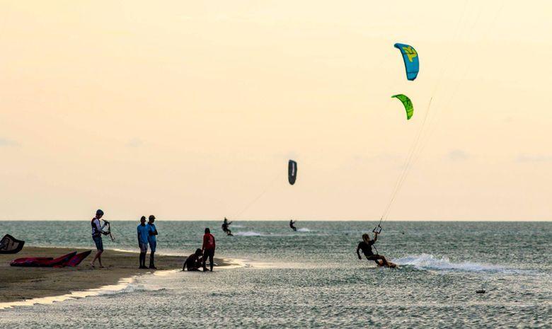Week-end de kitesurf intense à Mannar-11