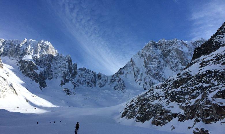 Stage ski de randonnée autour des Aiguilles Rouges-8